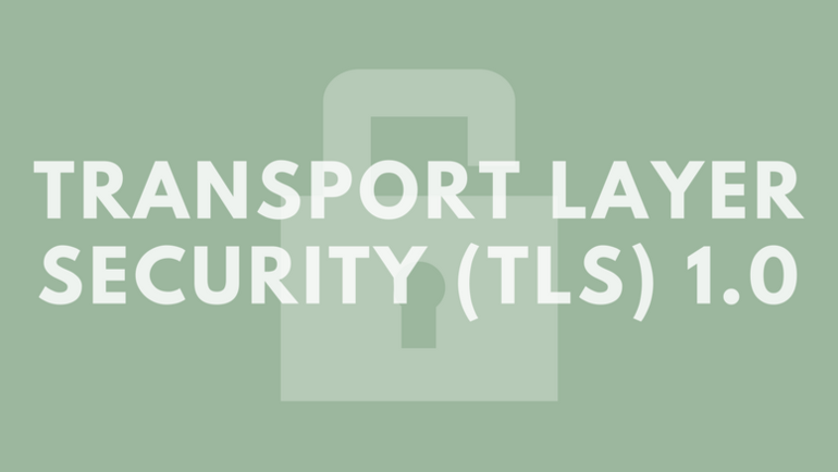 Transport Layer Security (TLS) 1.0