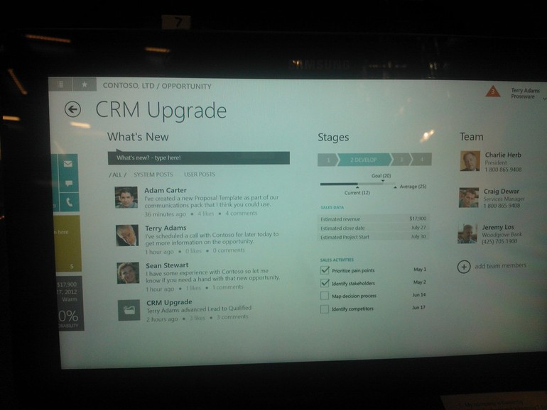 Microsoft Dynamics CRM 2013 - What's new ?