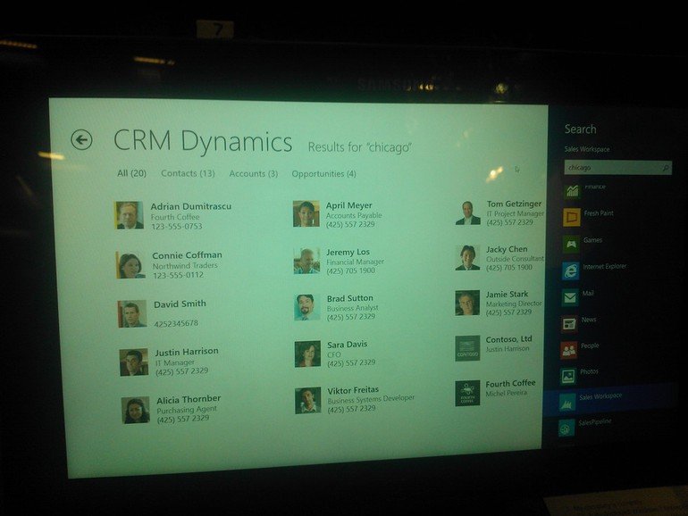 Microsoft Dynamics CRM 2013 - Search
