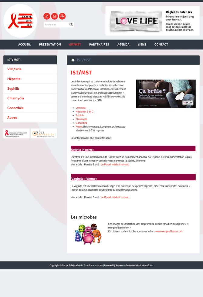 Le Groupe Sida Jura sur Internet - Blog   Artionet Web Agency