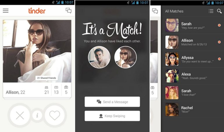 L'application Tinder ou le dating 2.0