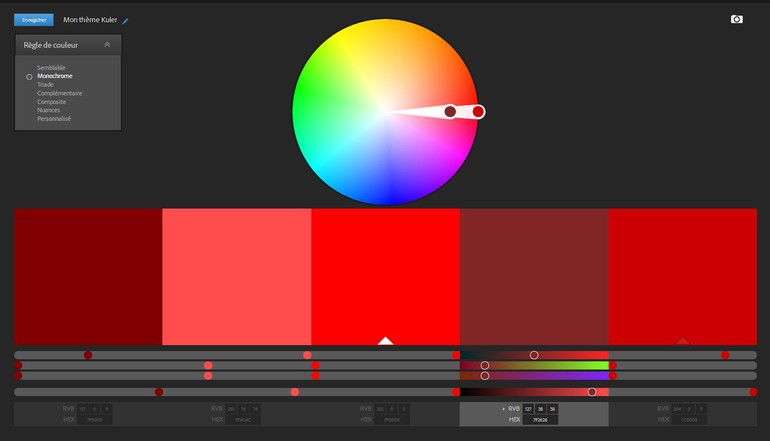 Créez Vos Palettes De Couleur Blog Artionet Web Agency