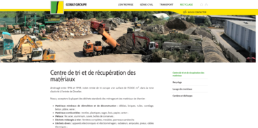 Gobat Georges SA - recyclage