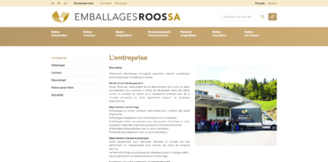 Emballages Roos SA - L'entreprise