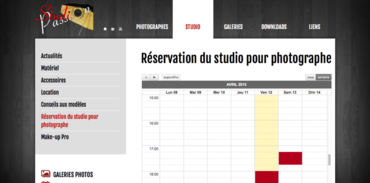 Studio Passion - Réservation de studio