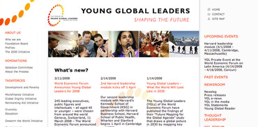 Young Global Leaders - Accueil