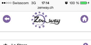 Zenway Mobile - Accueil