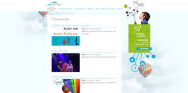 Arc Emotions / Festival des Vents - Events