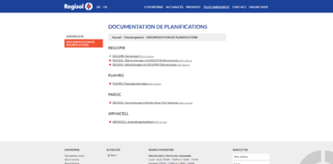 Téléchargement de documents