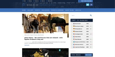 World Of Show Jumping - Accueil
