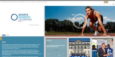 Sports Academy Lausanne - Accueil