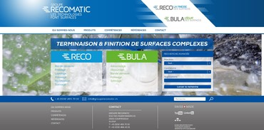 Groupe RECOMATIC - Accueil