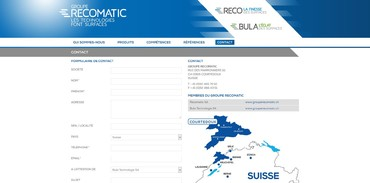 Groupe RECOMATIC - Contact