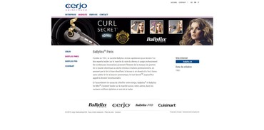 Cerjo Switzerland - Marque Babyliss Paris