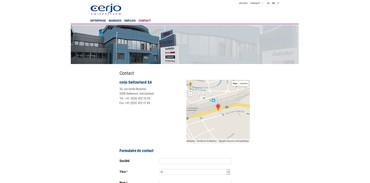 Cerjo Switzerland - Contact