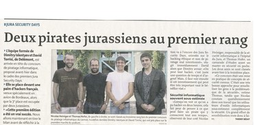 Artionet remporte le Jurackerfest