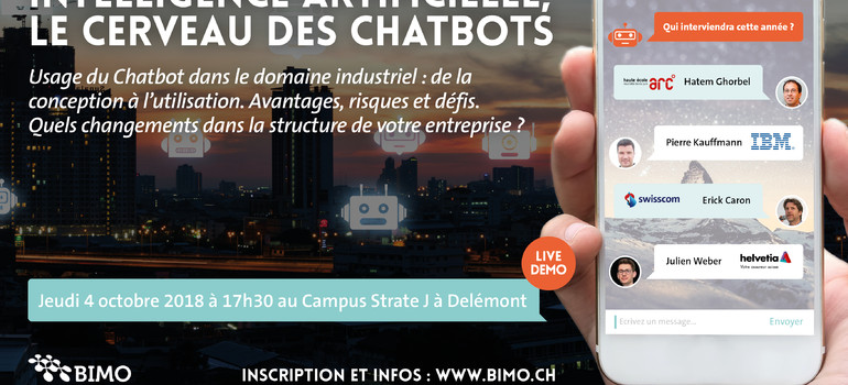 BIMO Forum 2018 : Intelligence artificielle, le cerveau des Chatbots