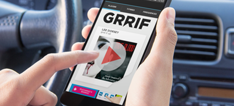 Nouvelle application mobile : GRRIF